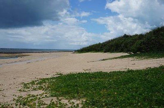 Maezato Beach : 広いビーチです
