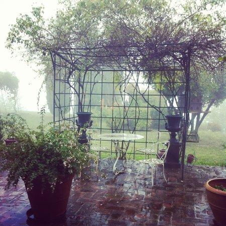 B&B La Chiesa Vecchia : Giornata di pioggia