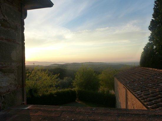 Calcione Castle and Country: Blick von Terrasse