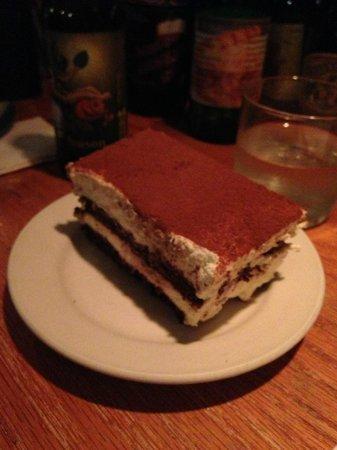 Risotteria: Not really tiramasu, but very tasty anyway