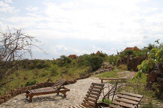 Amani Mara Camp : 部屋のまわり