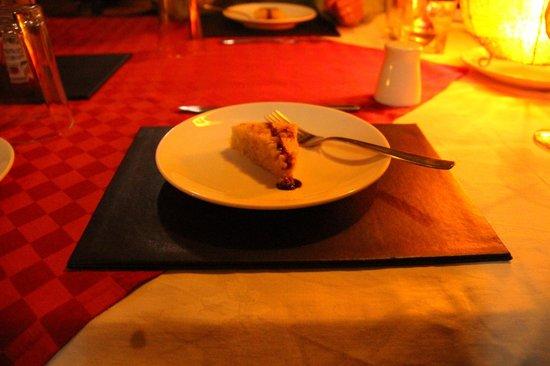 Amani Mara Camp : デザート