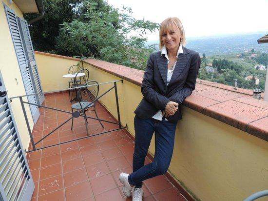 Hotel Bellavista: Panorama dalla camera