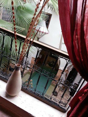 Ryad Noura : vue couloir