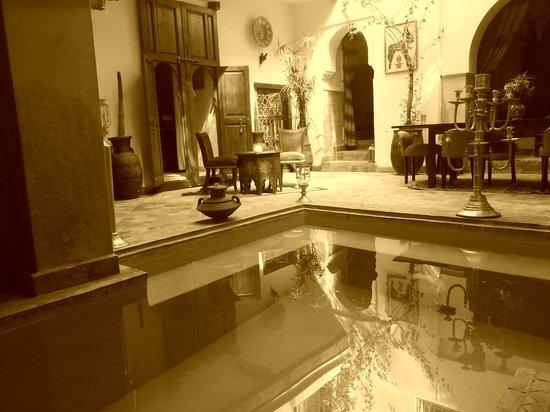 Ryad Noura : piscine