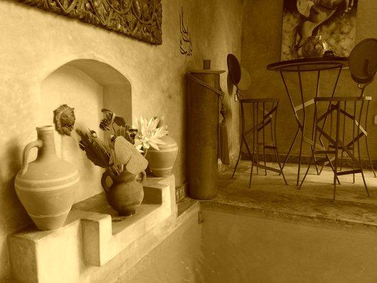 Ryad Noura : espace piscine