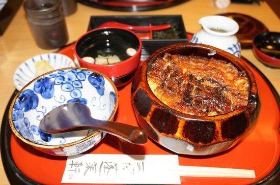 Atsuta Horaiken, Matsuzakaya : おひつまぶし 3100円