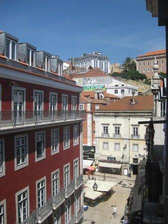 Hotel Gat Rossio: Blick aus dem Fenster