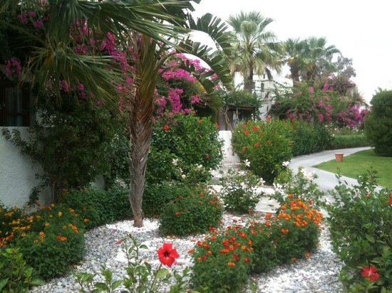 Lindian Village : jardins