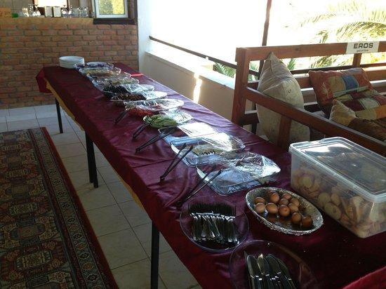 Donmez Hotel: Breakfast