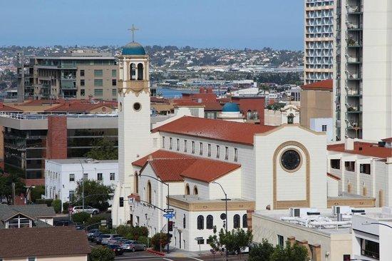 Holiday Inn Express San Diego Downtown: Blick aus dem Fenster