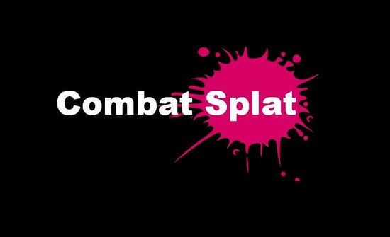 Combat Splat Paintball: Logo