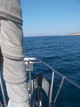 Ciudad de Naxos, Grecia: Sailing