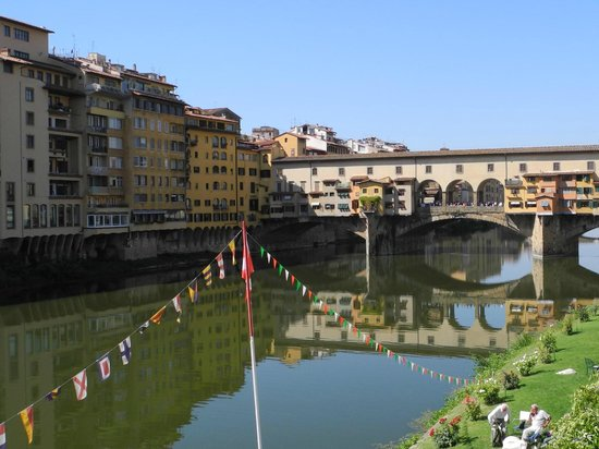 Ponte Vecchio die Brücke