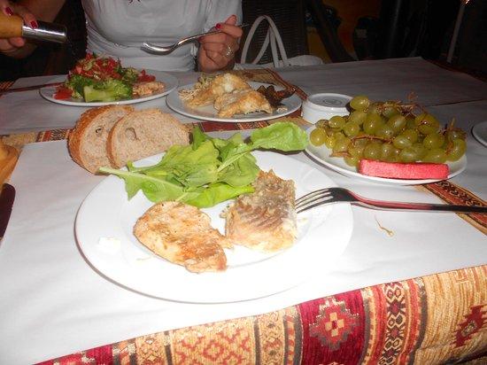 Fatih Hotel Kleopatra: Dinner