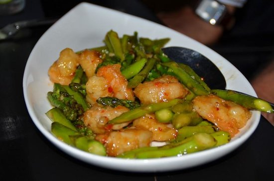 Sky Fine Dining: Hunan Seafood dish - excellent!