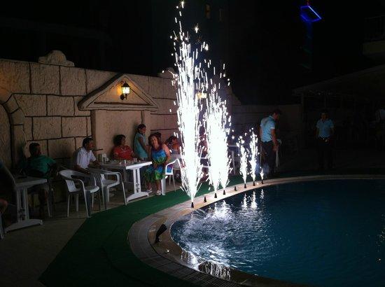 Asli Hotel: Birthday Fireworks