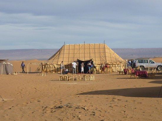 Erg Chigaga : Zeltlager