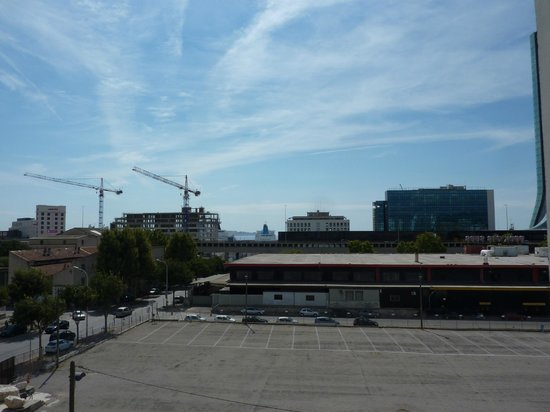 Appart'City Marseille Euromed: The view from the third floor