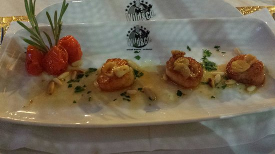 Wild & Co. Steakhouse: Scallops.  First time iv had scallops and they were amazing