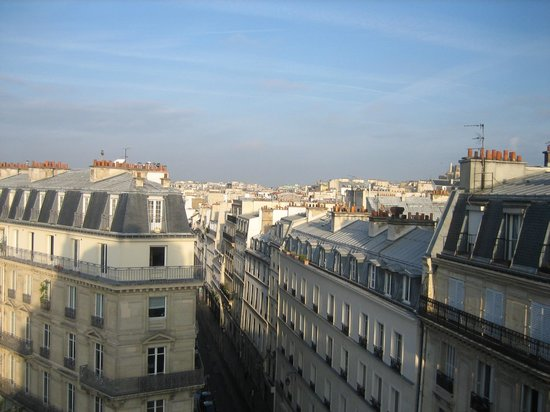 Paris France Hotel: rooftop view