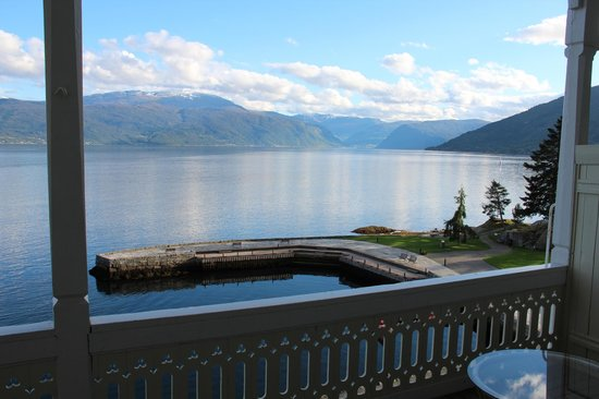 Kviknes Hotel: View from room