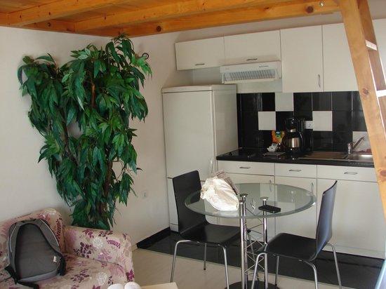 Apartments Zadar : salon cuisine