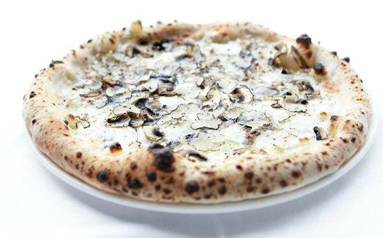 Trattoria Pulcinella: Pizza del bosco