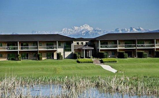 Jiva Hill Resort: vue sur le Mont Blanc