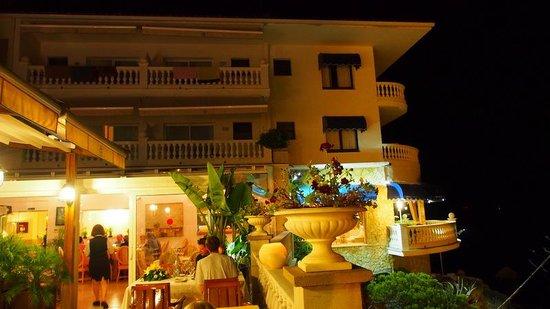 Hotel Costa Brava: une belle terrasse