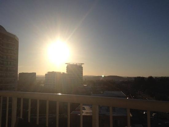 Meridian Tower: sunset at Kirra