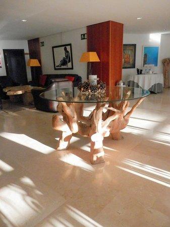 Hotel Villa de Biar: Recepción