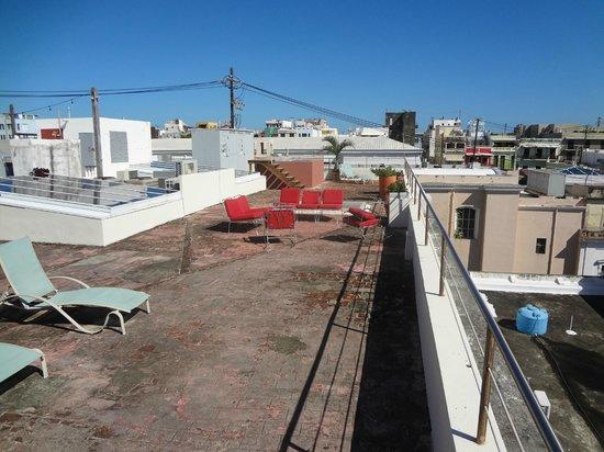 Da House Hotel: Terraza