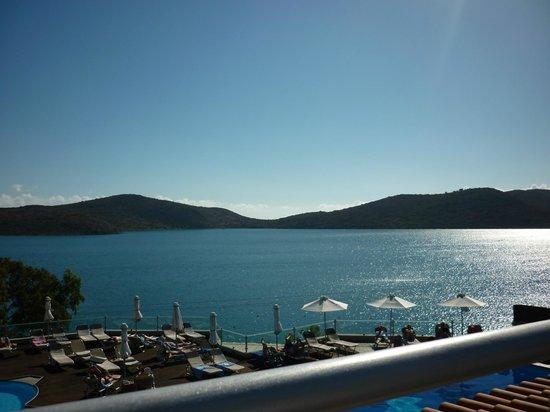SENTIDO Elounda Blu: View from breakfast