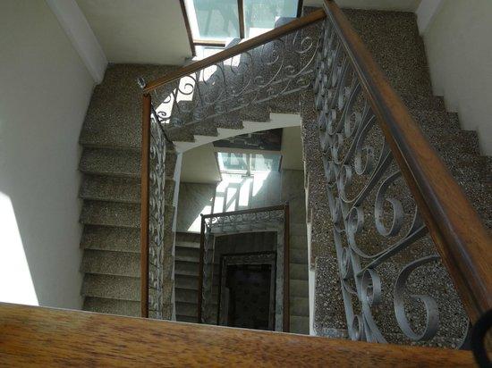 Da House Hotel: escaleras