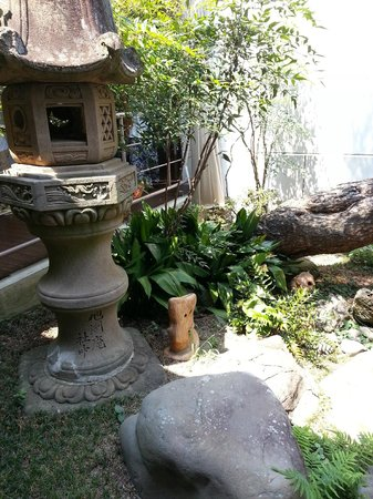 Mizuki Shigeru Museum: Garden - this is the only place in the museum where you're allow to take pictures