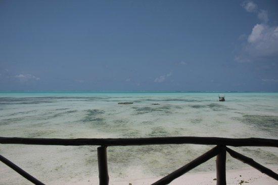 Coral Rock Zanzibar: View from the Restaurant