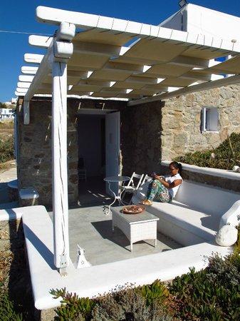 Villa Margarita Mykonos: Balcony