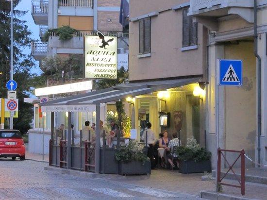 Aquila Nera: View of the restaurant