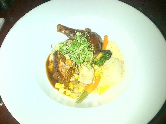 Chez Chose : rabbit meal