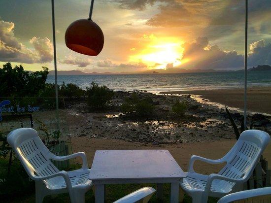 Sabai Ba Bar : sunset view