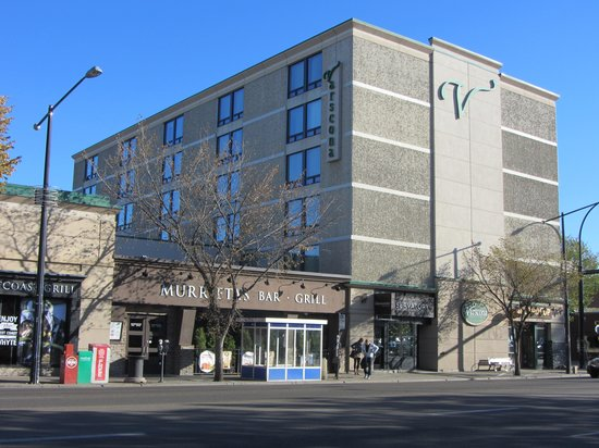 Varscona Hotel on Whyte: Whyte Avenue side of hotel