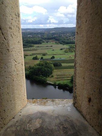 Château de Mercuès : Vue de la chambre