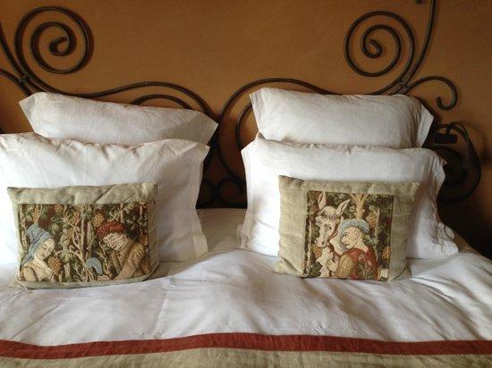 Château de Mercuès : nos coussins tapisserie