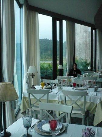 Hotel Quinta de San Amaro: Comer y disfrutar de las vistas