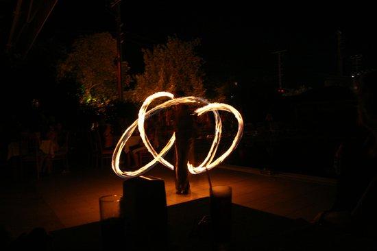 Mavruka Hotel: Fire Dancer at Turkish Night