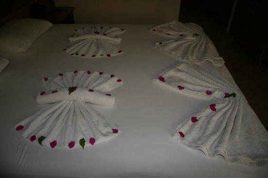 Mavruka Hotel: Creative maid service