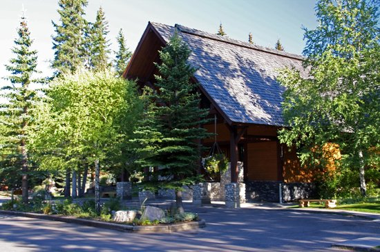 Buffalo Mountain Lodge: Haupthaus