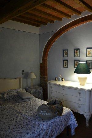 Borgo dei Cadolingi: Chambre 1 (Loggia)
