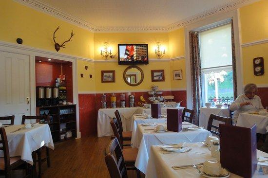 Strathness House: Breakfast Room